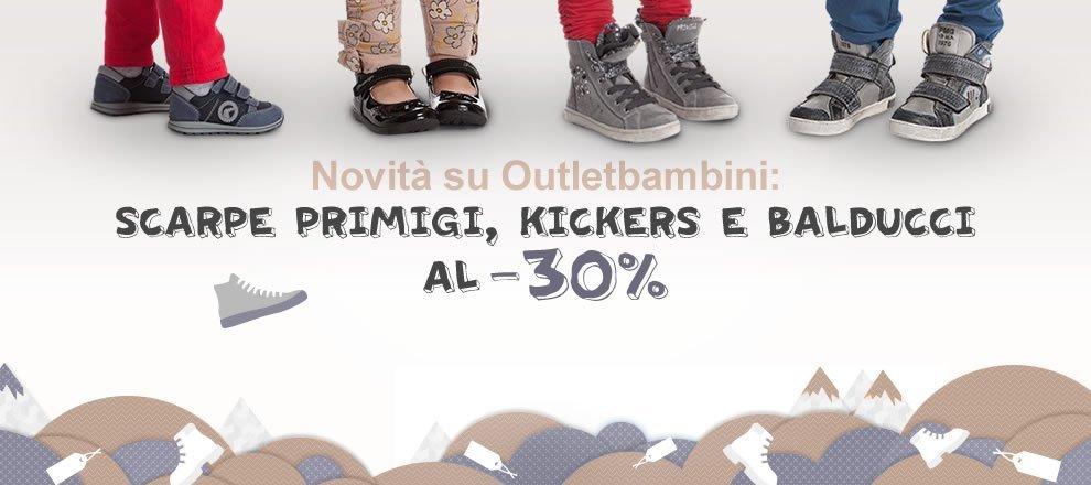 Novità scarpe su Outletbambini