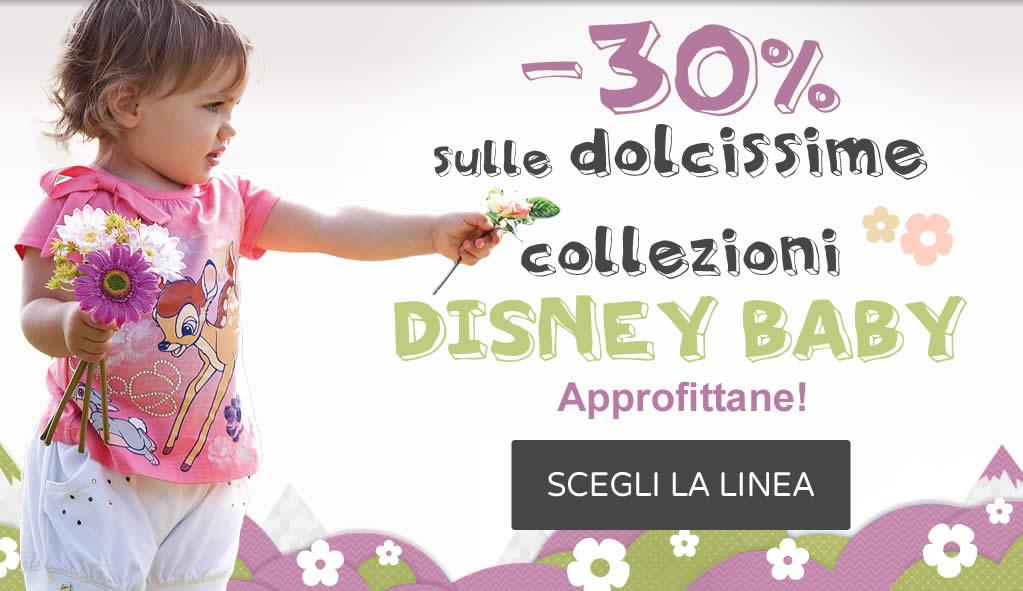 -30% sulle dolcissime collezioni Disney Baby