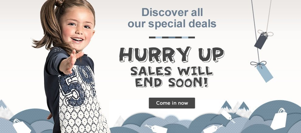 Kids Baby Sales Occasions
